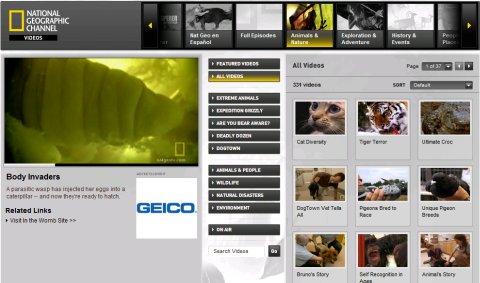 Videoteca de National Geographic USA