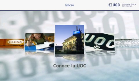 UOC Media Center - Menú principal