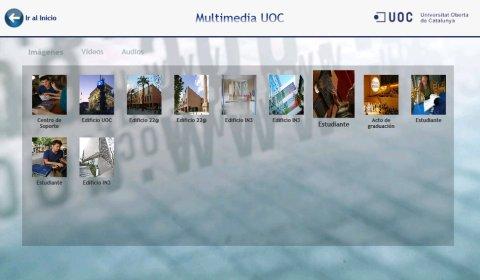 UOC Media Center - Visor de imágenes