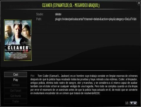 Información de la película