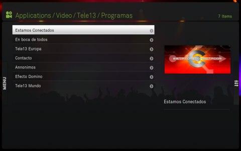 Programas completos de Tele 13