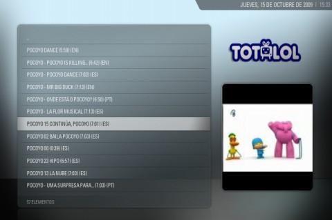 Vídeos en Totlol