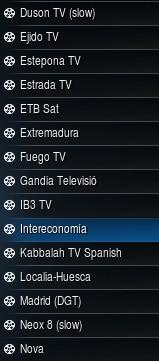 Cadenas de España