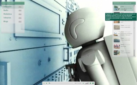 Reproductor a pantalla completa