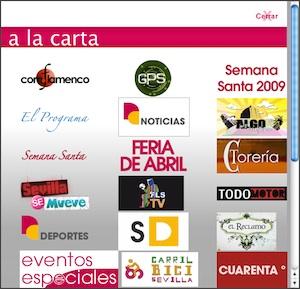 Los programas de Giralda TV a la carta