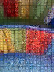 """Foto """"Colored Plate - Fractal Mosaic"""" de qthomasbower"""