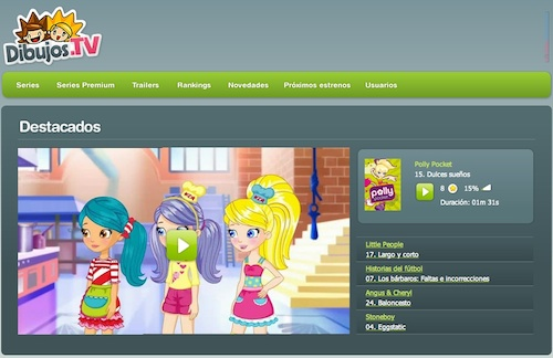 Series destacadas en dibujos.tv