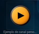Ejemplo de canal personal en pelisalacarta