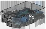 Caja transparente para Raspberry Pi