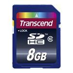 Tarjeta Trascend SDHC 8GB - Clase 10